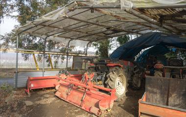 長年倉庫に眠っている農機具をまとめて引取可能!